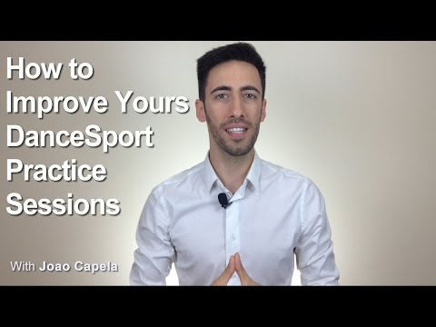 How to Improve your Dancesport Practice Sessions