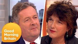 Piers Morgan Challenges Professor Calling for Contact Sport Ban in Schools | Good Morning Britain