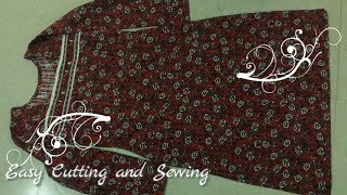 simple-salwar-kameez-cutting-method-easy-and-quick-kameez