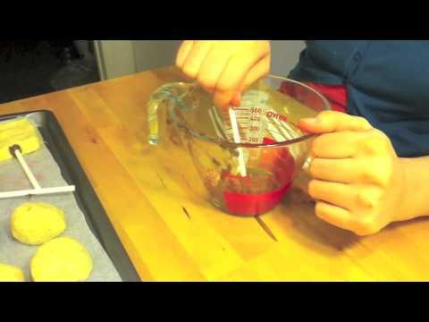 How To Make A Baseball Cake Pop