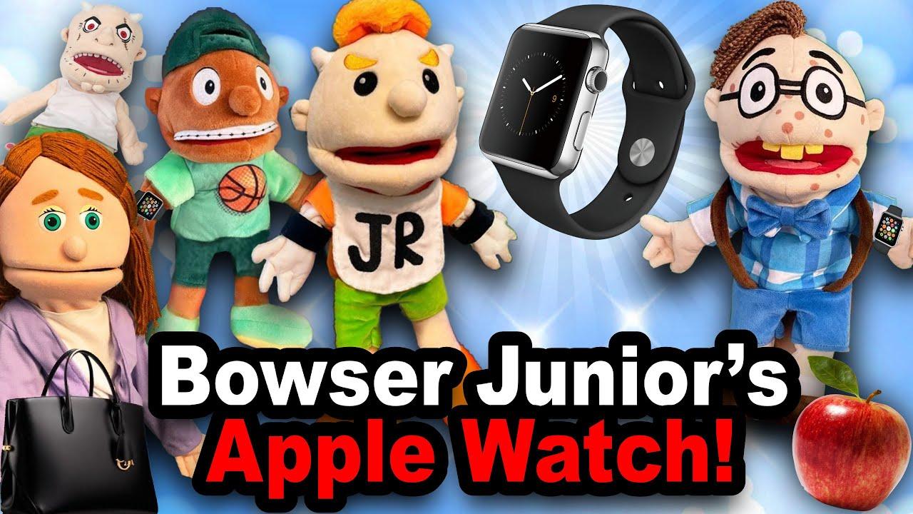 SML Movie: Junior's Apple Watch!
