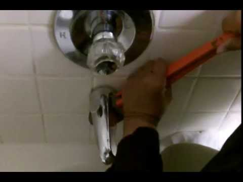 Replace that Leaking Bathtub Shower Diverter For Good