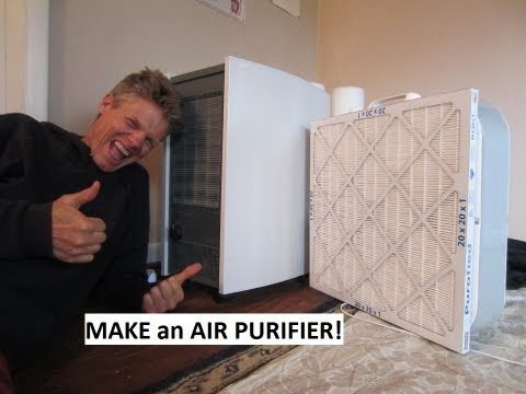 Air Purifier Reviews & How to Make One - Do it Yourself $50!