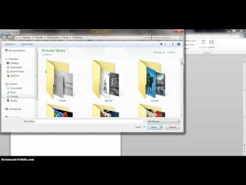Make a Greeting Card with MS Word   Part 2