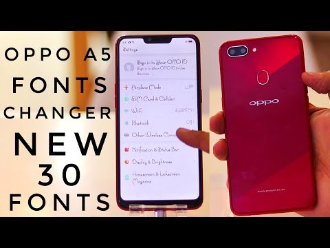 Oppo A5 Fonts Changer | Change Fonts in Oppo A5