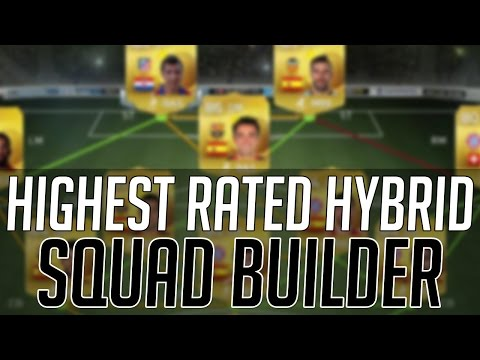 THE HIGHEST RATED CHEAP HYBRID SQUAD (AFFORDABLE) | FIFA 15 Ultimate Team Squad Builder (FUT 15)