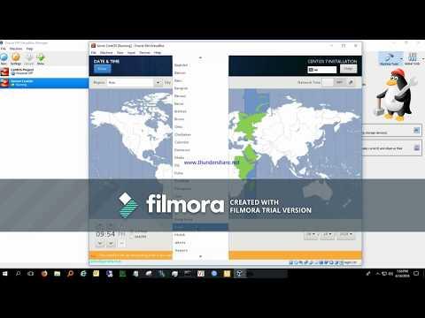 Install CentOS 7 di VirtualBox