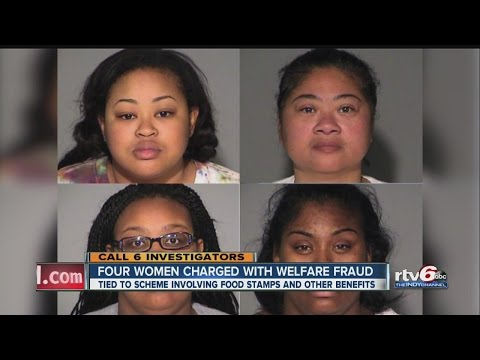 Four women charged with welfare fraud