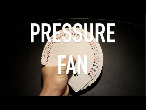 Pressure Fan Tutorial//Learn Cardistry//Card Flourish Tutorial