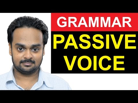 Where to Use PASSIVE VOICE - Advanced English Grammar