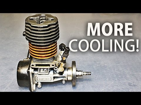 Nitro Engine Cooling Head Modification