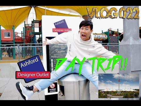VLOG 004 Ashfort Designer Outlet Day Trip