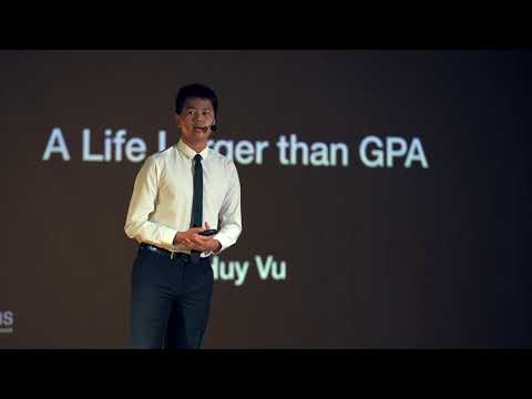 A Life Larger than GPA | Huy Vu | TEDxYouth@SSIS