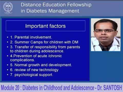 diabetes in childhood