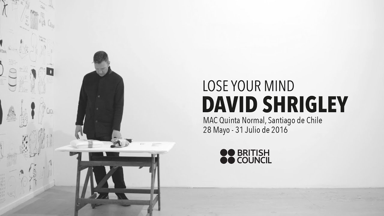 Lose Your Mind by David Shrigley