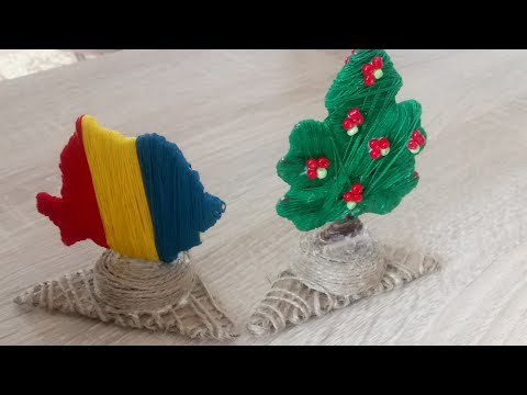 How to transform cardboard air fresheners into decorations Tutorial