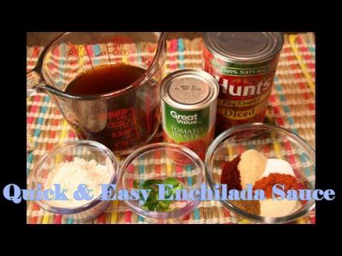 Homemade Enchilada Sauce Recipe - How To Make Enchilada Sauce