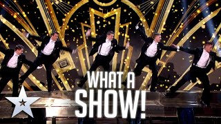The Beat Brothers have REINVENTED tap dancing!   Live Shows   BGT Series 9