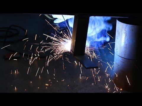 DIY metal grind rail