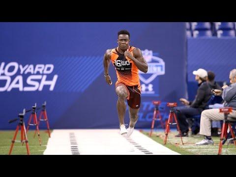 Phillip Dorsett clocks rapid 40-yard dash time