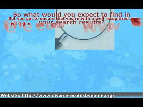 What to Do for Checking Divorce Records Online
