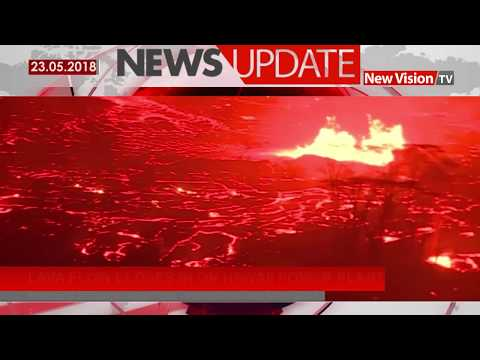 Lava flow closes in on Hawaii power plant