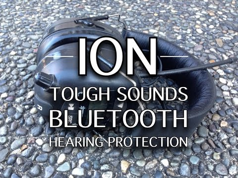 Ion Tough Sounds Bluetooth AM/FM Hearing Protection
