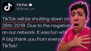 Tik Tok is Shutting Down FOREVER because of...