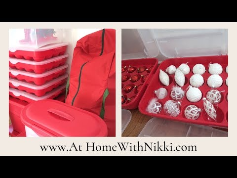 CLEAN WITH ME | HOW I STORE MY CHRISTMAS DECOR