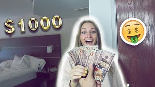 BUY WHATEVER YOU WANT ft. MY GIRLFRIEND ($1,000 SHOPPING SPREE)