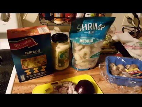 Easy Creamy Shrimp Alfredo