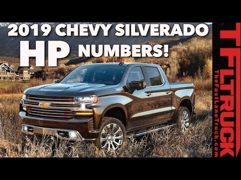 TFLtruck Exclusive: 2019 Chevy Silverado & GMC Sierra 1500 Power Specs Leaked Early