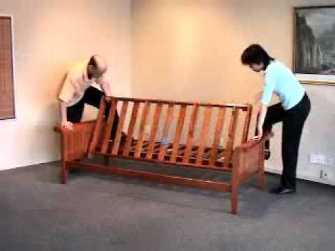Futon Assembly: How to Assemble a Futon Frame - Bronze Series by Night and Day