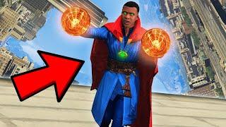 GTA 5: FRANKLIN BECOMES SUPREME GOD DR STRANGE IN GTA V!
