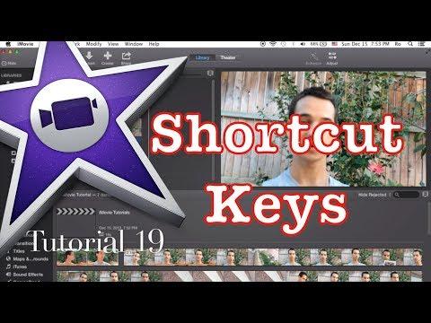 Beneficial Shortcut Keys in iMovie 10.0.1 | Tutorial 19