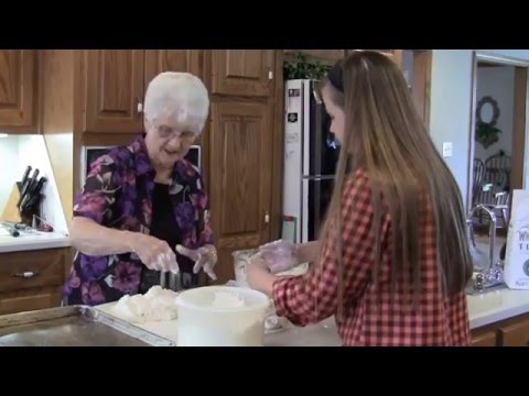 In the Kitchen with Granny & Madison - Baking Biscuits from Scratch