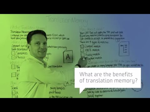 What are the benefits of translation memory?