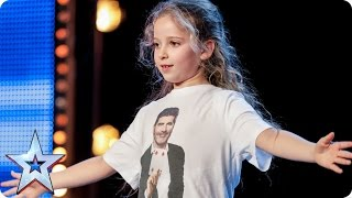 Issy Simpson is a real life Harry Potter | Auditions Week 2 | Britain's Got Talent 2017