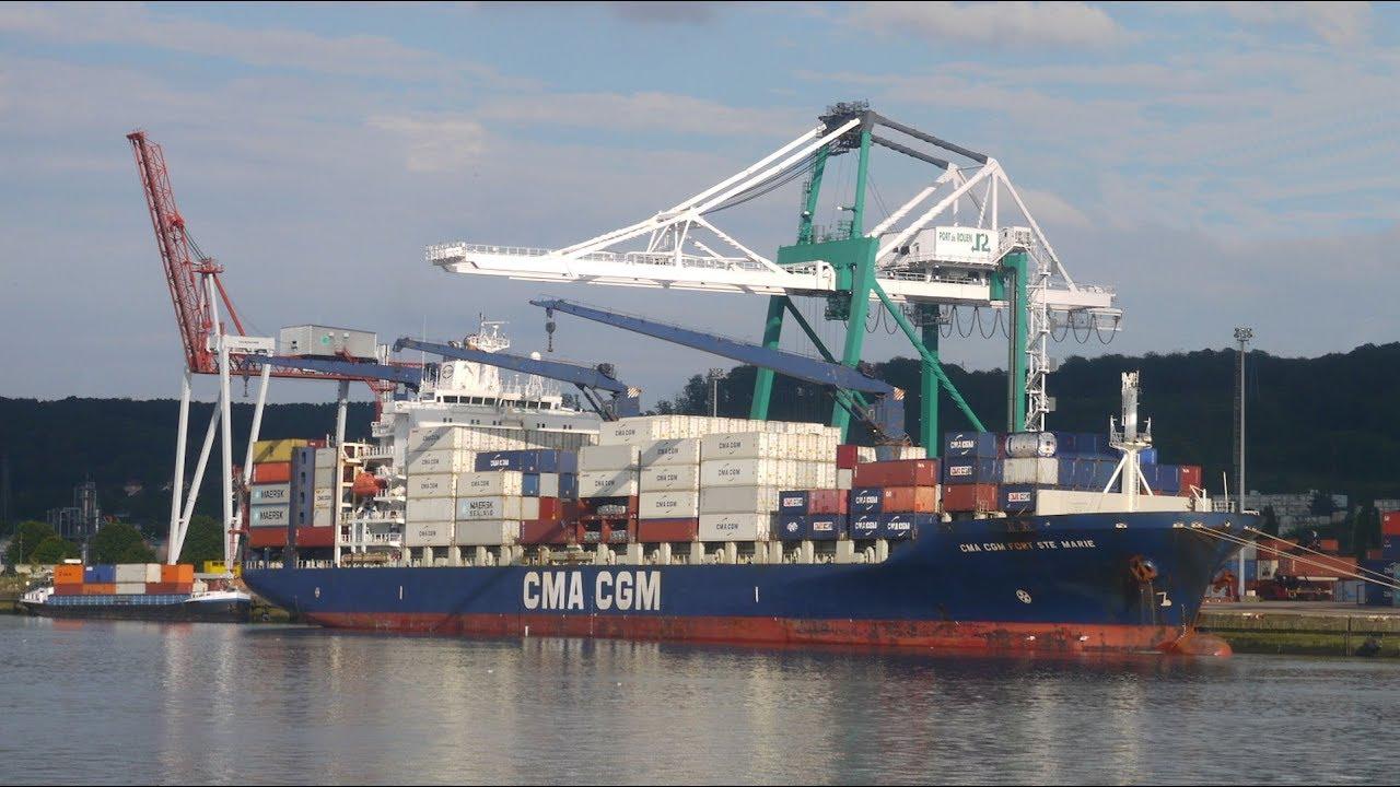 TRANSAT EN PORTE-CONTENEURS (1/2) - De Dunkerque au Havre