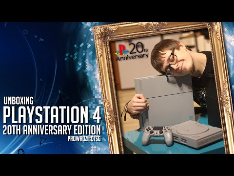 PS4 20th Anniversary Edition (07457) - Unboxing