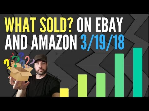 Excellent Money From Things I Sold on eBay and Amazon FBA