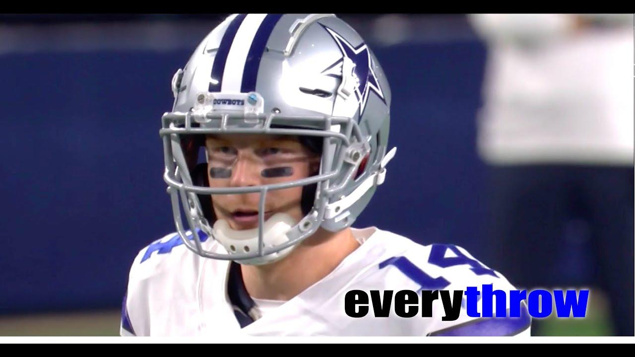Andy Dalton v. Minnesota Vikings - Every Throw