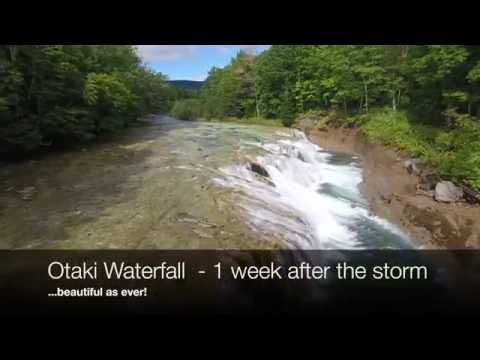 Waterfall After the Storm