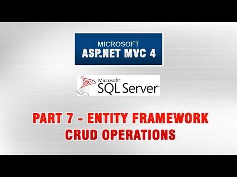 ASP.NET MVC 4 Database Tutorial In Urdu - Entity Framework (CRUD Operations)