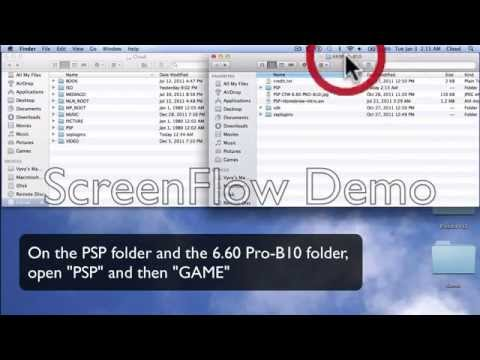 How to install CFW 6.60 PRO-B10 on any PSP Model