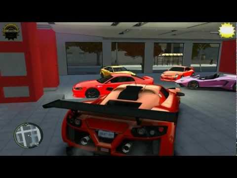 SPORT CARS DEALER GARAGE GTA4