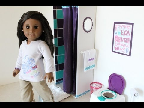 How to Make a Doll Shower - Doll Crafts