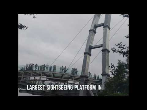 SKY WALK IN BEIJING-Tourist Places in Beijing-Glass bridge Beijing
