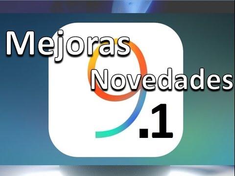 Novedades iOS 9.1 Descubre Todas Las Mejoras Y Novedades