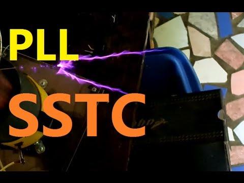 PLL SSTC Half Bridge Tesla Coil